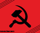 Communist Hammer And Sickle Icon