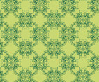 Green Floral Pattern