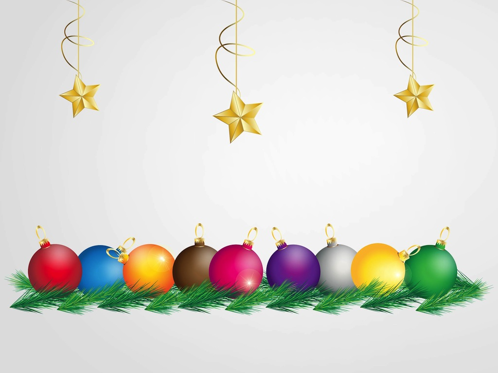 Colorful Christmas Graphics