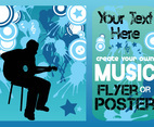 Music Concert Vector Template
