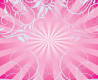 Free Pink Swirls Background