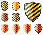 Striped Shields