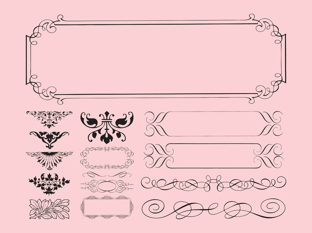 Free Antique Frames Vector Art & Graphics | freevector.com