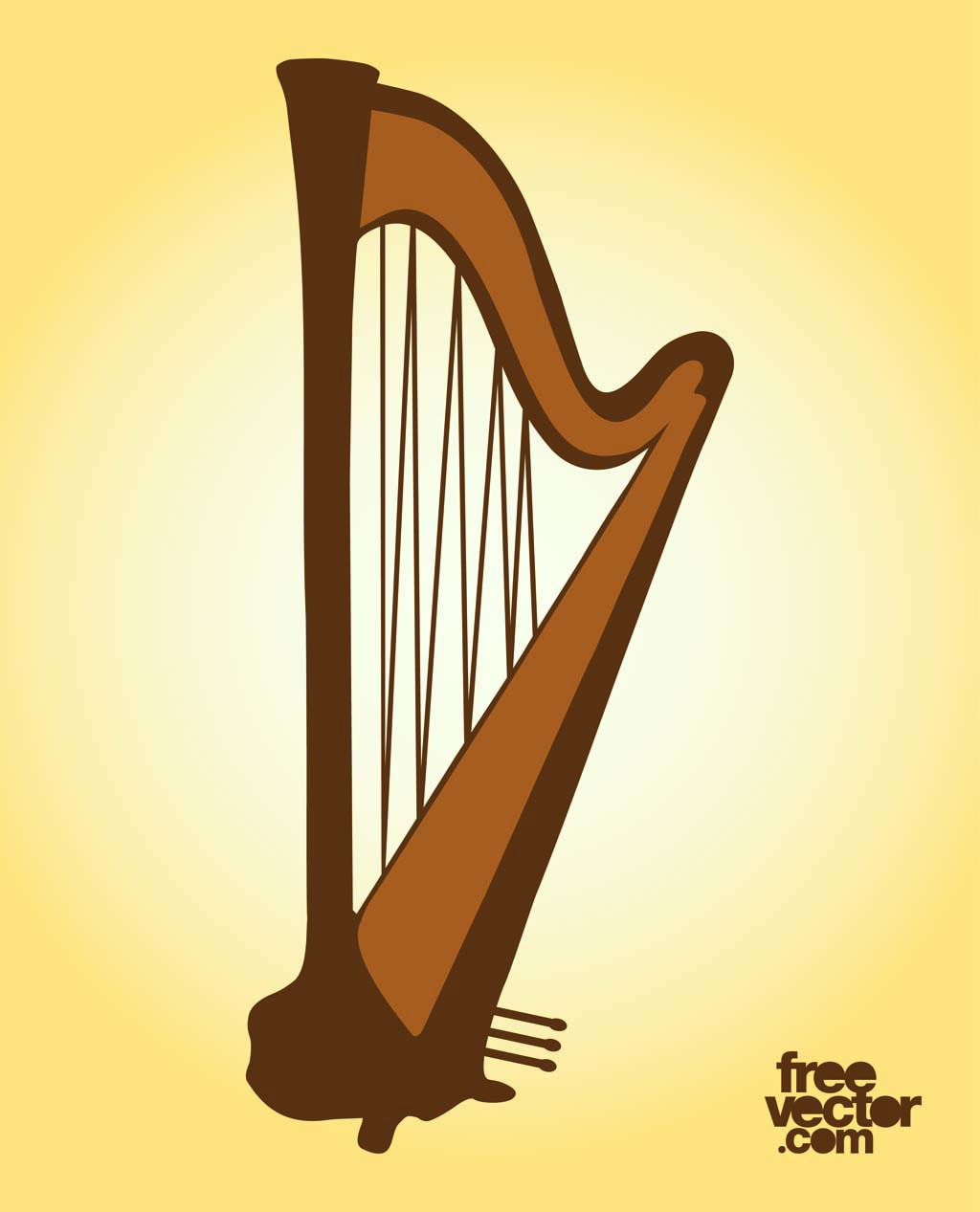 harp clipart | Hostted