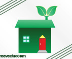 Eco House Graphics