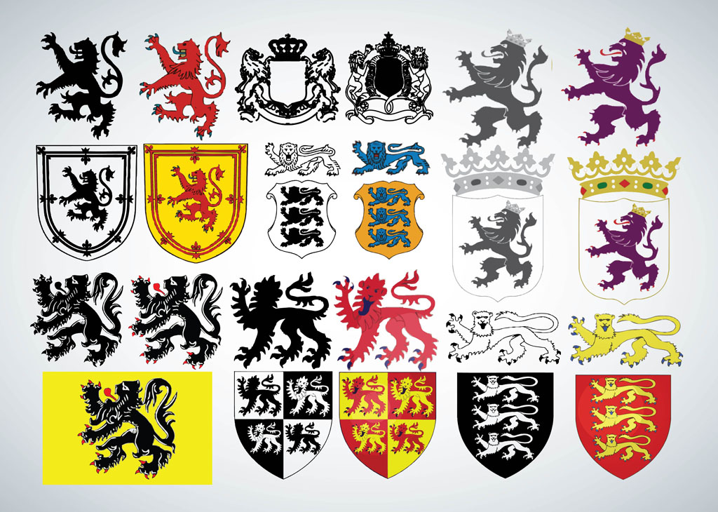 heraldry Vickie wallace the birth of heraldry shortly after the norman conquest of britain in 1066, the great nobles and later the lesser nobles and knights adopted certain symbolic devices by which they could be easily recognized in battle, tournament and on their seals.