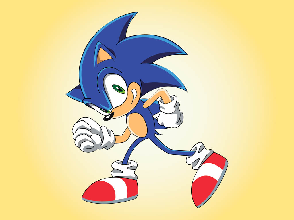Sonic The Hedgehog Vector Art Graphics Freevector Com