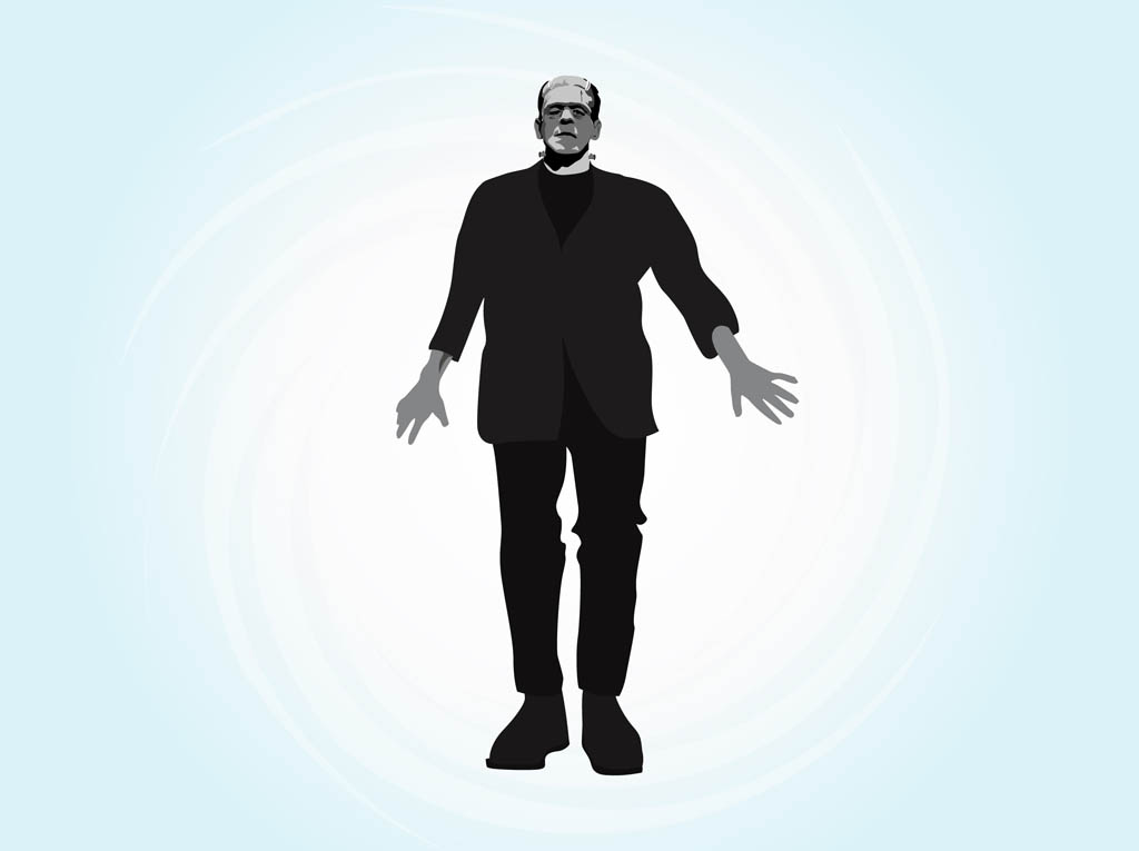 Frankenstein Vector Graphics