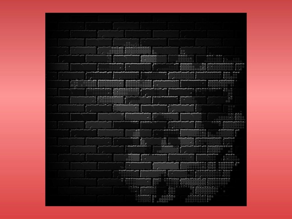 FreeVector-Dark-Brick-Wall Old Newsletter Template on blank parent, fun company, microsoft publisher, blank preschool, free printable blank, microsoft word, company monthly, free business,