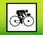 Cycling Person Icon