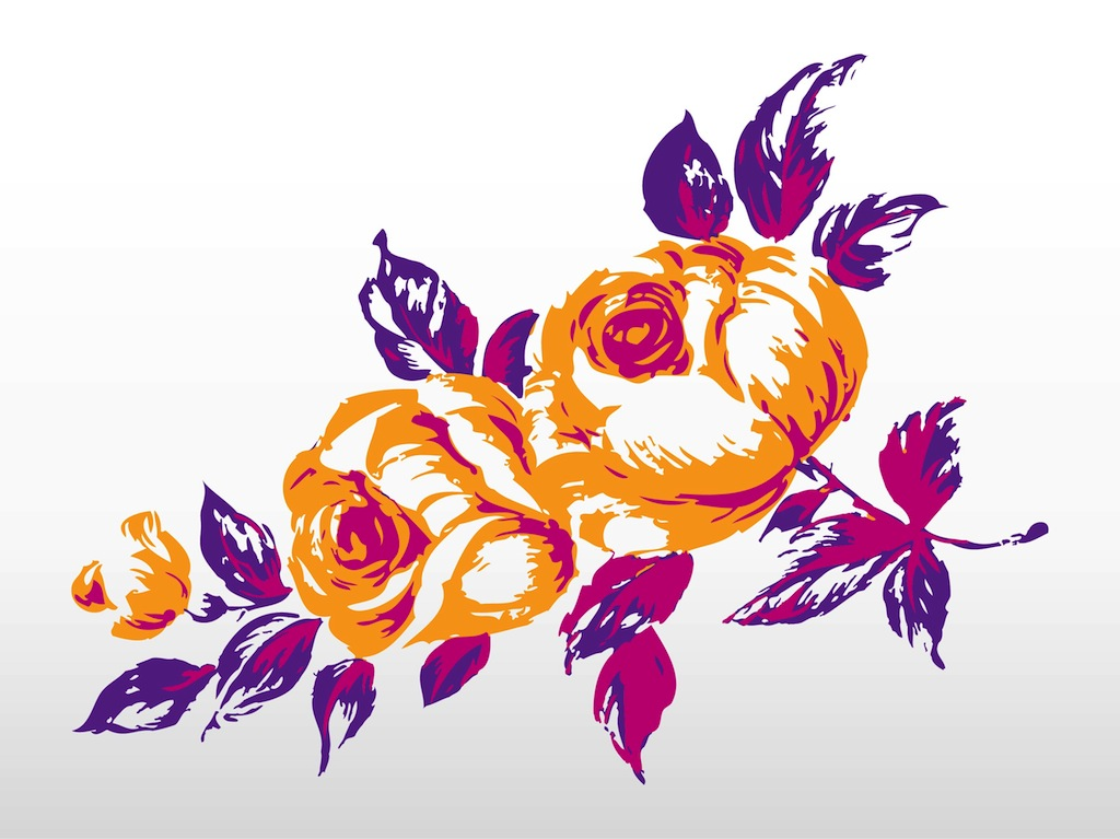 Floral Decorations floral decorations vector vector art & graphics | freevector