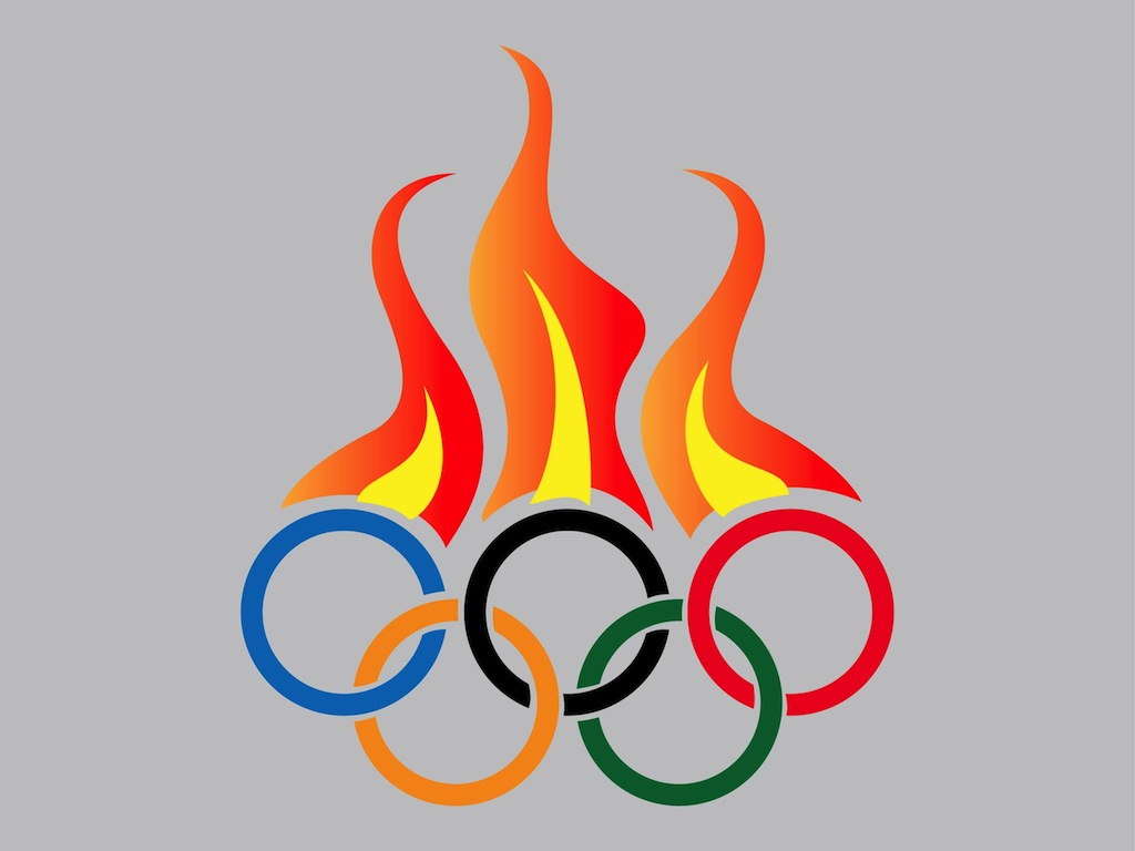 Olympic Rings Clipart And Olympic Torch | Apps Directories
