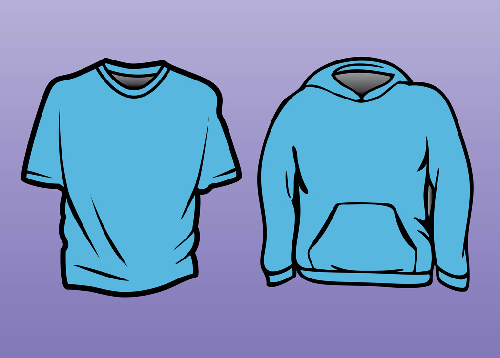 T-Shirt Sweatshirt Template