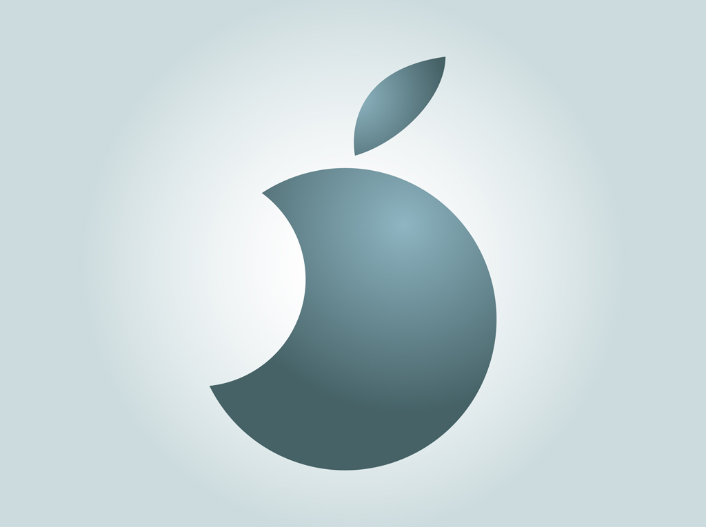 Circle Apple Logo