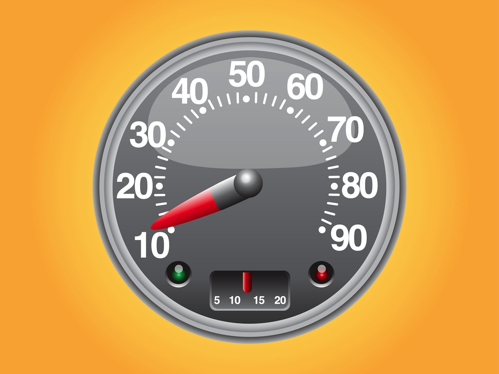 Speed Meter Vector