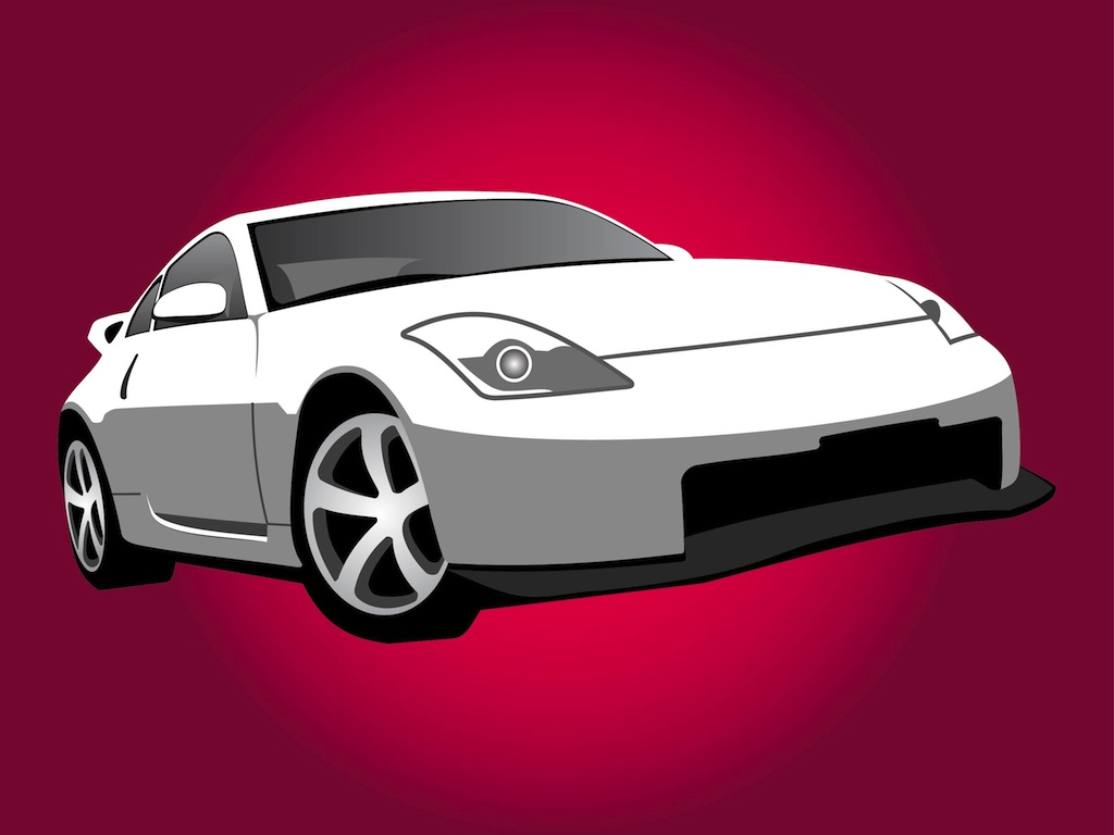 Nissan Car Illustration