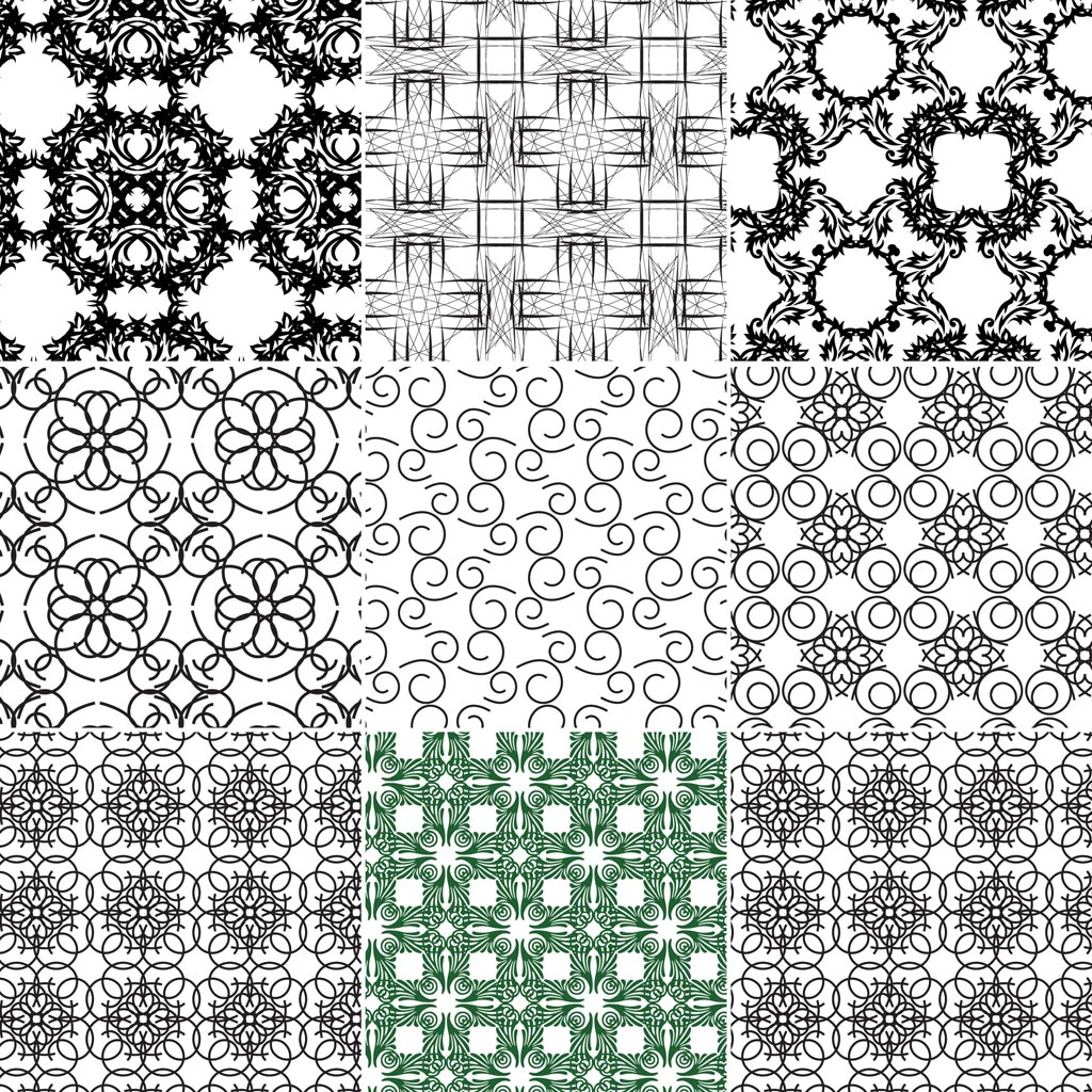 Seamless Vector - Adobe Illustrator Patterns