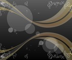 Backdrop Decorations Vector