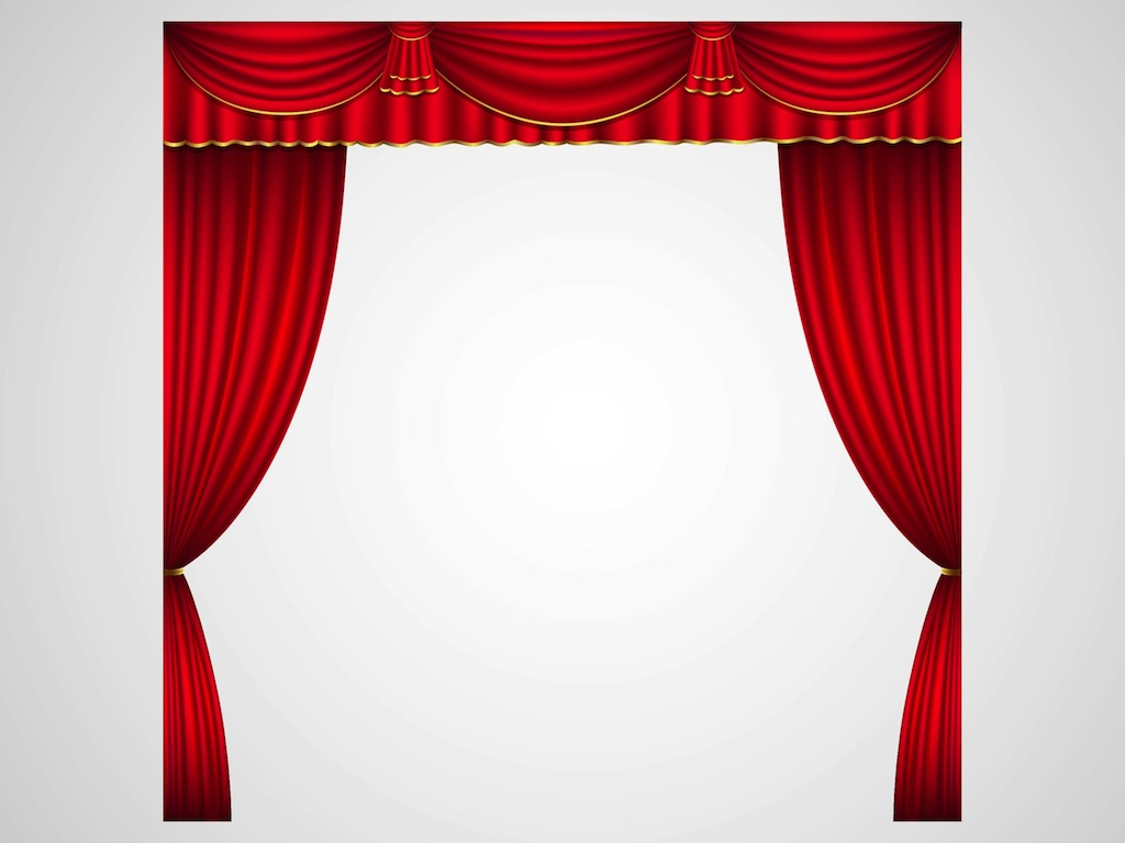 and stock with stage velvet drapes illustration depositphotos curtains theater vector wooden spotlight red open