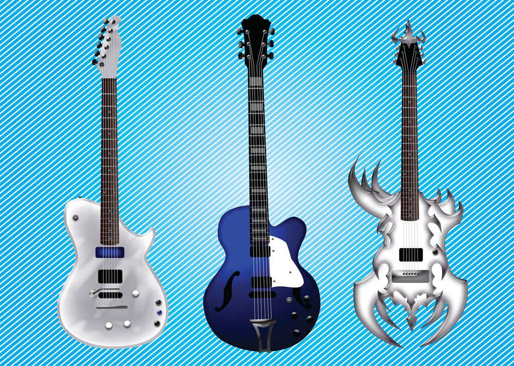 Electric Guitar Vectors