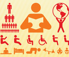 People Symbols Set