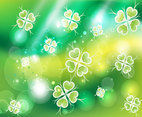 Green Clover Background Image
