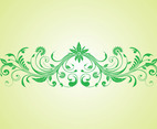 Swirling Plant Scroll