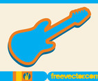 Electric Guitar Icon