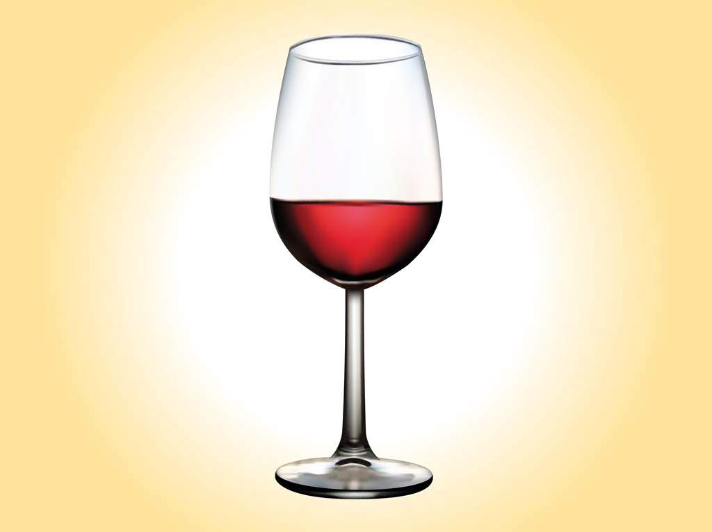Glass Of Wine Vector Art Amp Graphics Freevector Com