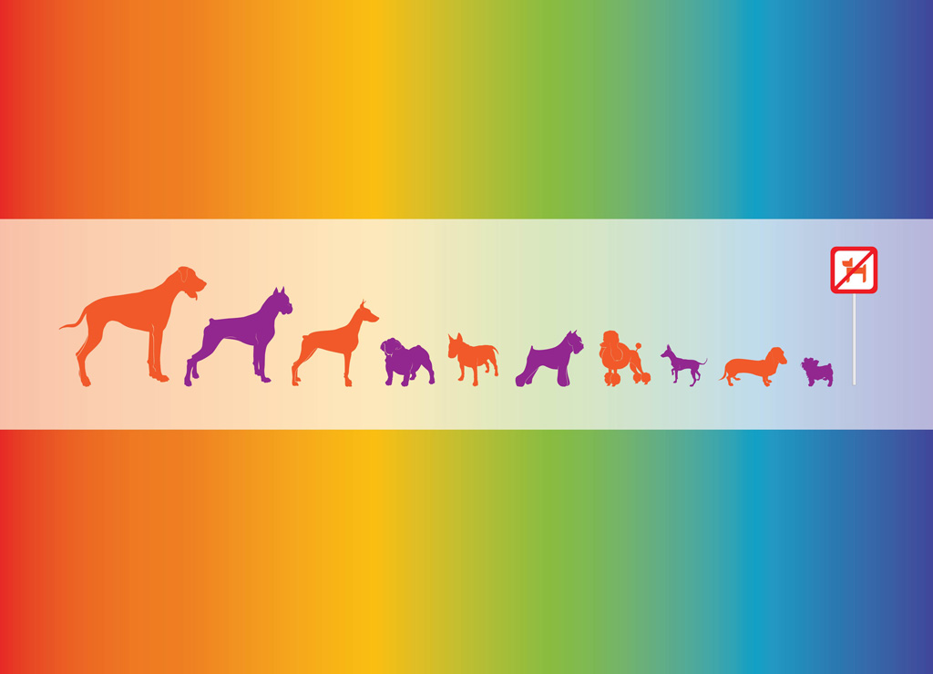 Vector Dogs Graphics