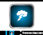 Thunderstorm Icon Graphics
