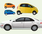 Cars Vector Graphics