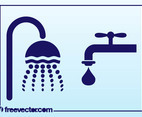 Running Water Icons