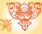 Antique Decorations Vector