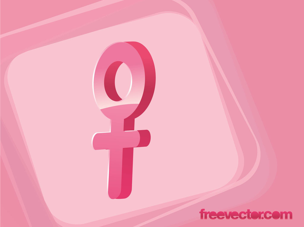 Female Gender Symbol Vector Vector Art Graphics Freevector