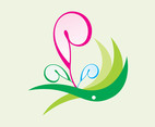Curved Flowers Icon