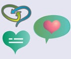 Heart Icons Vectors