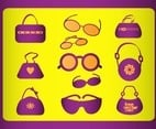 Fashion Accessories Vectors