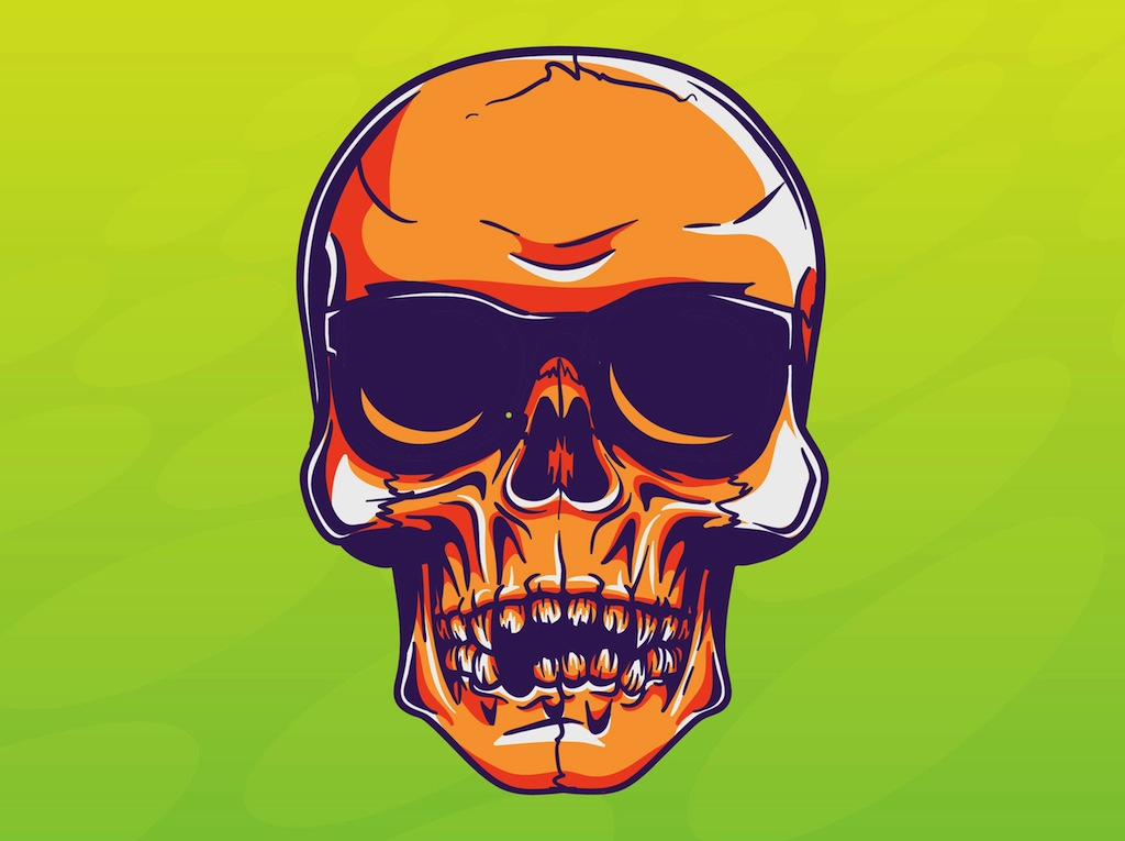 Cool Skull Vector Vector Art & Graphics | freevector.com