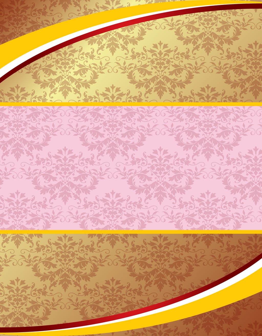 Pink And Gold Background Vector Art Amp Graphics
