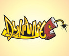 Dynamite Graffiti Piece