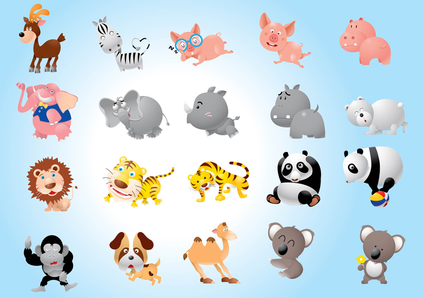 animals clipart pack - photo #22