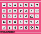 Square Icons Set