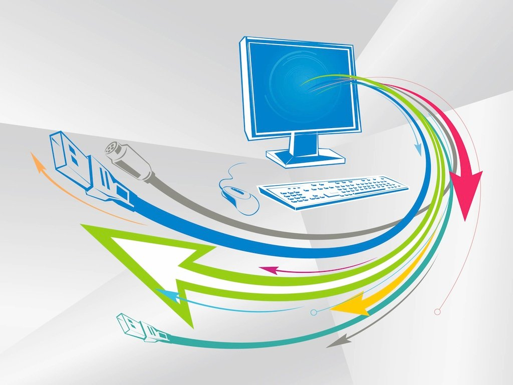 Free Vectors Vector Technology Background: Technology Layout Vector Art & Graphics