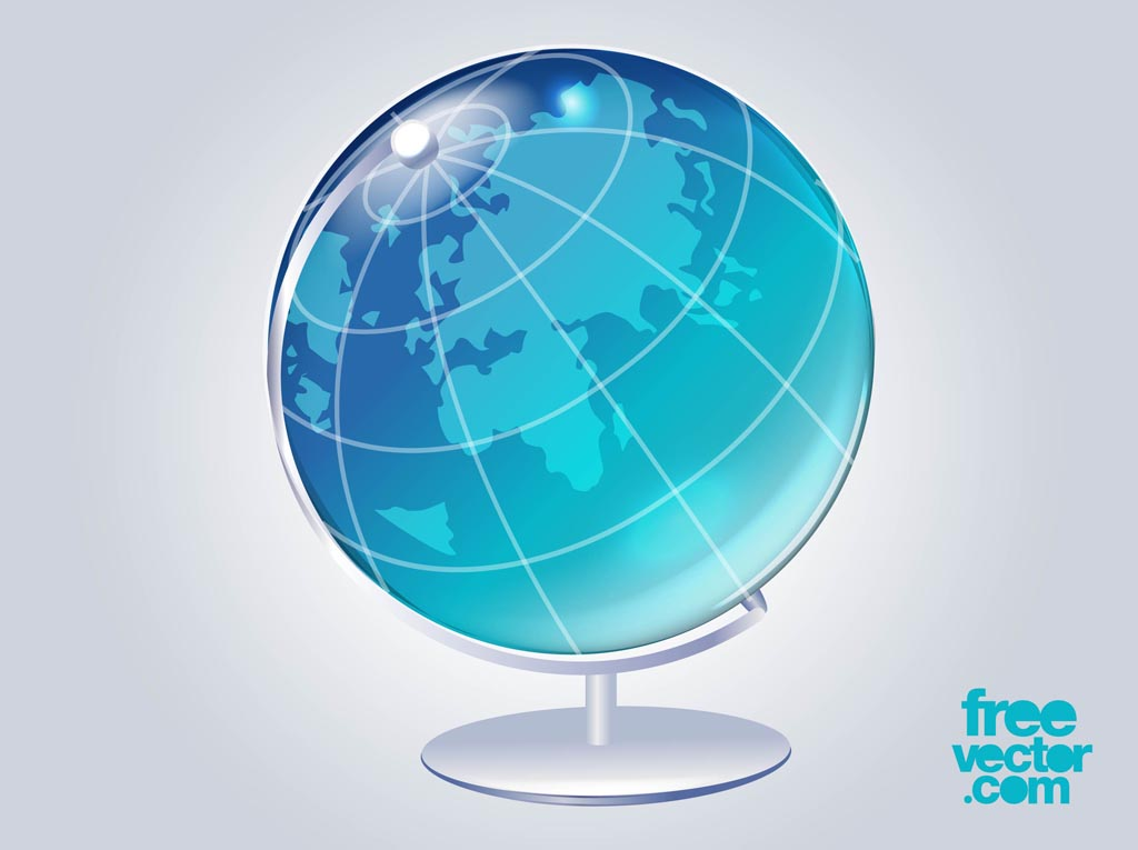 3 D Globe Vector Vector Art & Graphics | freevector.com