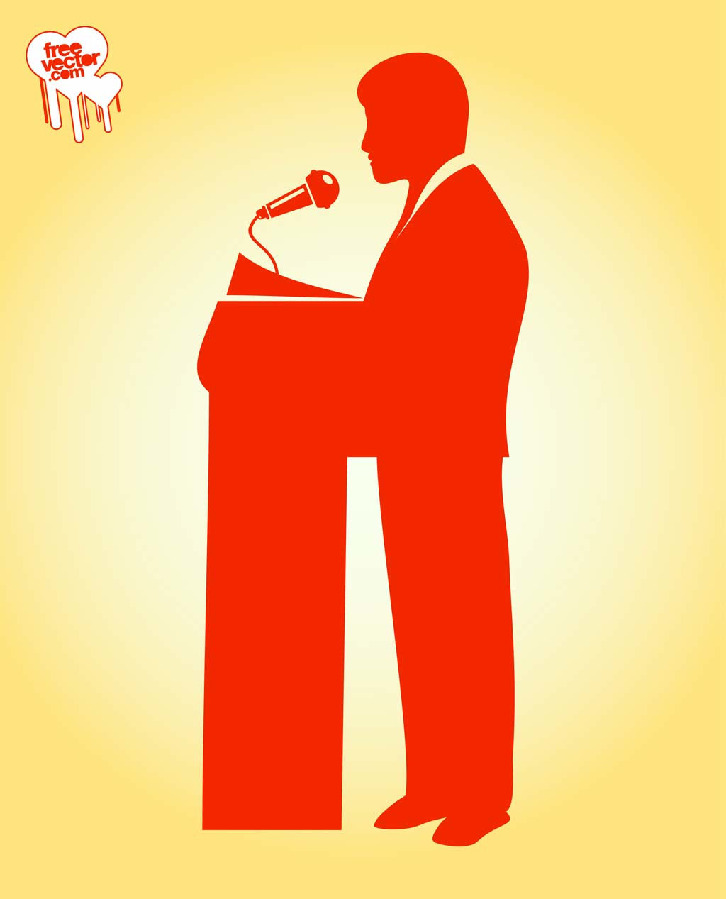 Speech Vector Illustration