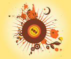 Burst Vector Graphics