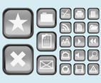 Interface Buttons Icons