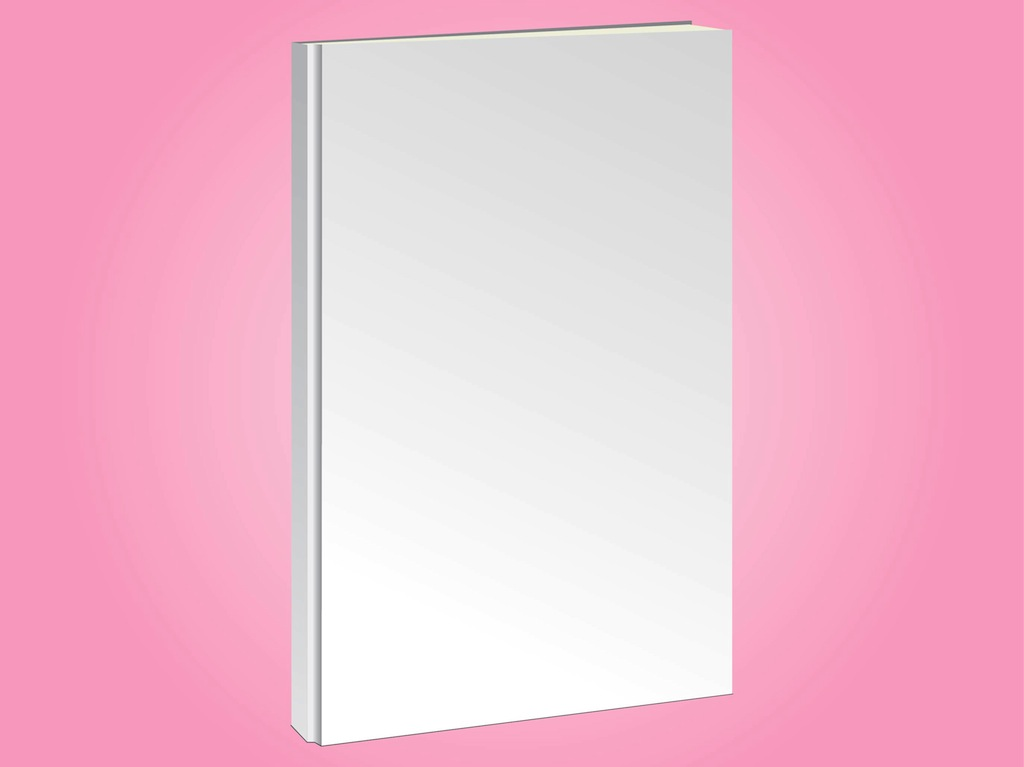 Blank Book Cover Vector Template : Blank book vector art graphics freevector