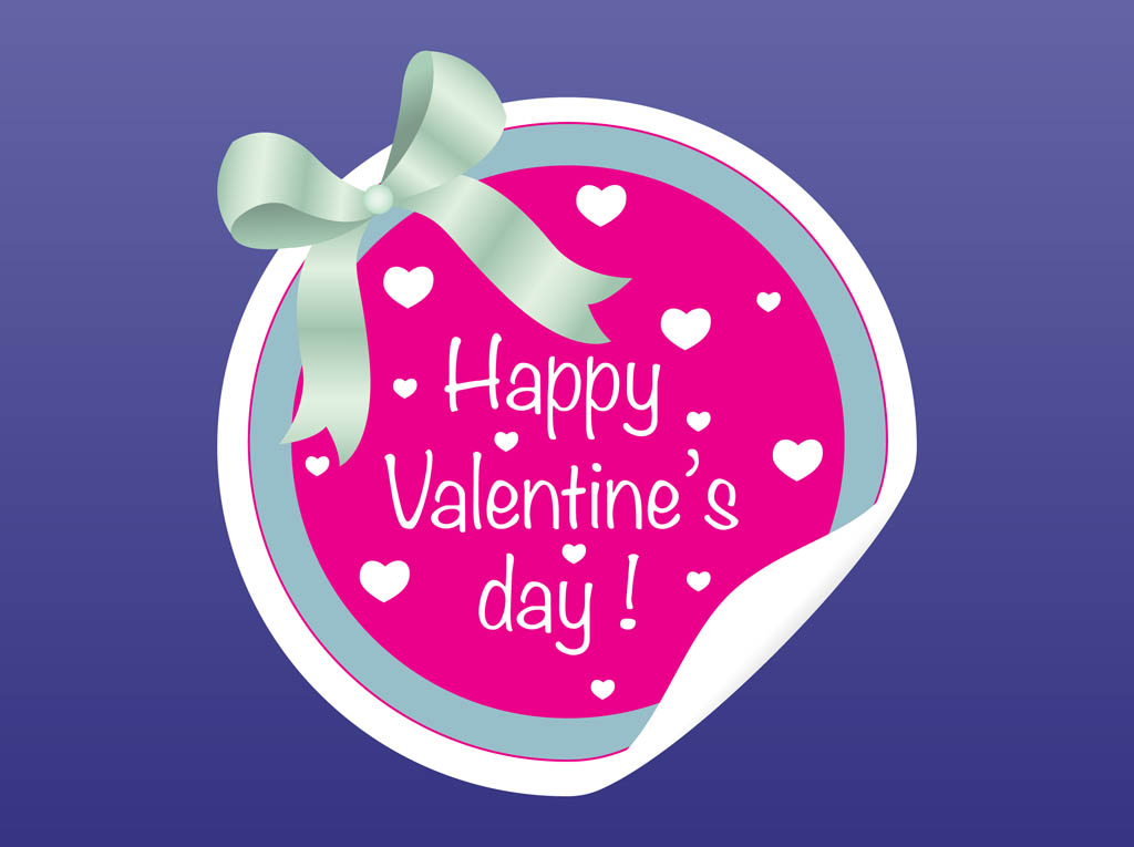 Valentine Badge
